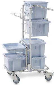 Cleaning system for controlled environment